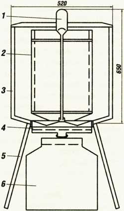 Как сделать медогонку своими руками чертежи 658