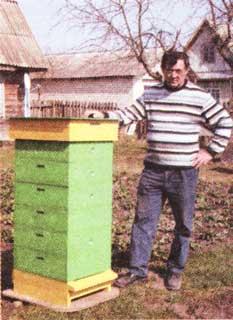 Содержание пчел в надставках