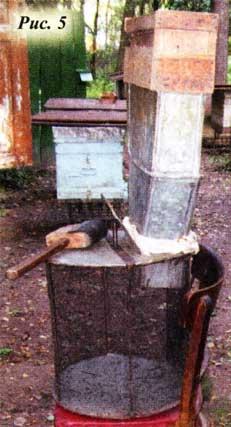 Воронку для стряхивания пчел...