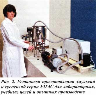 лабораторные установки