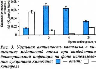 уровень активности каталазы