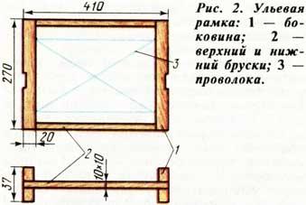 Ульевая рамка