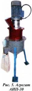 агрегате АИП-30