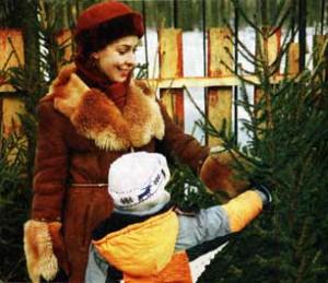 Традиция наряжать деревья