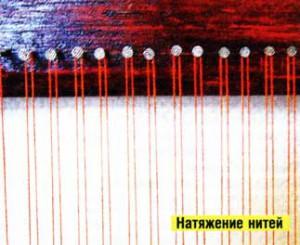 плетения ковриков