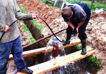 берутся грунтовые воды