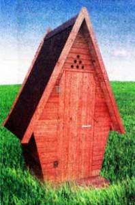 оформлению туалетного домика