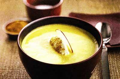яблочным куриным супом