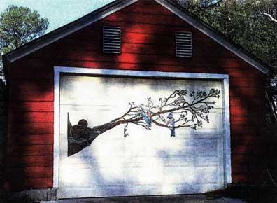 раскрасить ворота