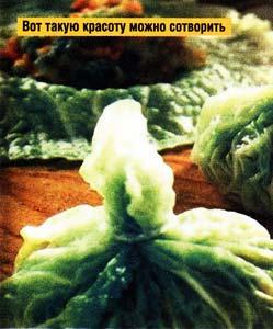 кушать свежую капусту