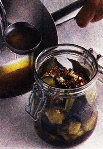 баклажаны и перец