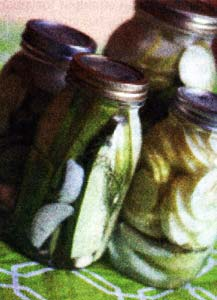 Огурцы со жгучим перцем