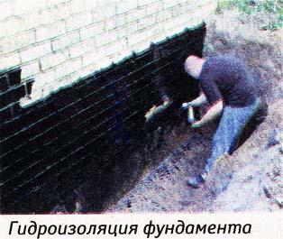 улучшения гидроизоляции