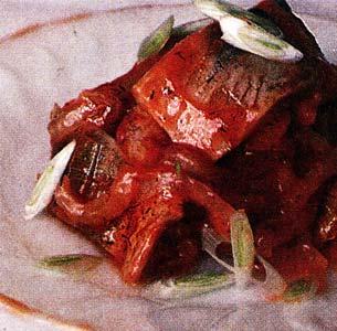 Селедка в кетчупе