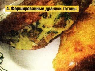 Картофель натираем