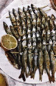 Рыбки на шпажке