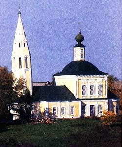 Спасской церкви